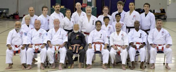 Colorado Springs Okinawa Karate Dojo at the 2018 Texas Camp