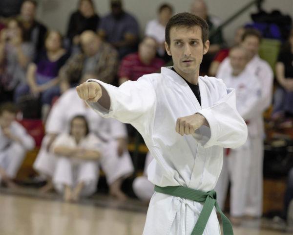 Joshua Donaldson Testing for 3rd Kyu