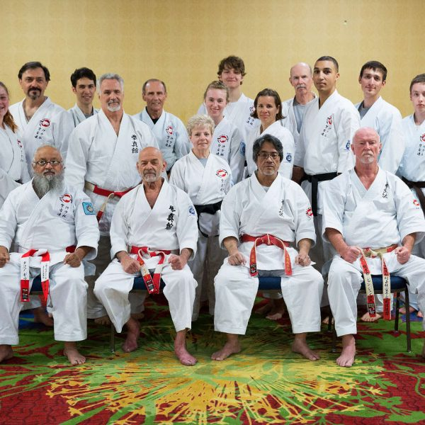 Colorado Springs Dojo at the 2017 OSMKKF Summer Camp