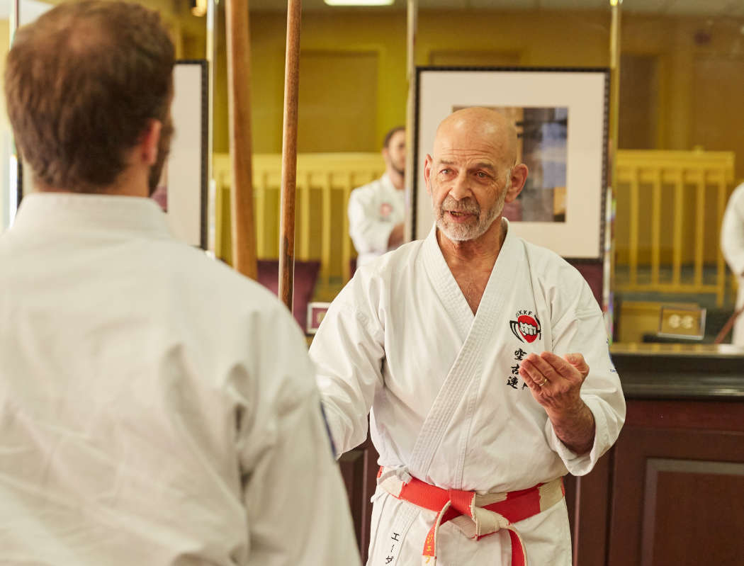 Sensei Ader Instructing