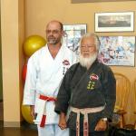 Hanshi Ader & Grand Master Kise